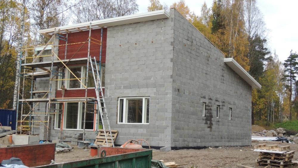 talonrakentaminen